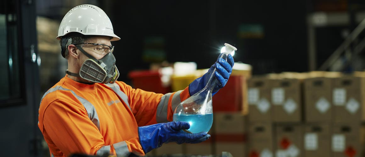 Ragn-Sells can offer tailor-made hazardous waste management solutions for all of its customers.